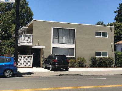 Oakland Multi Family Home For Sale: 5525 Claremont Ave