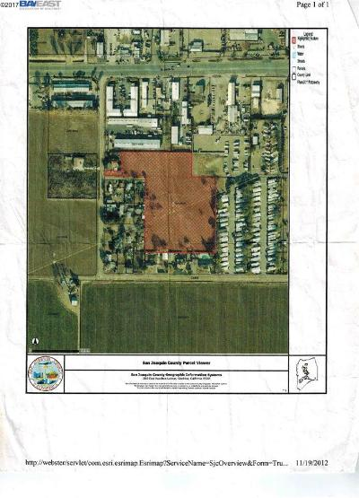 Tracy Residential Lots & Land For Sale: 24184 S Cabe Rd