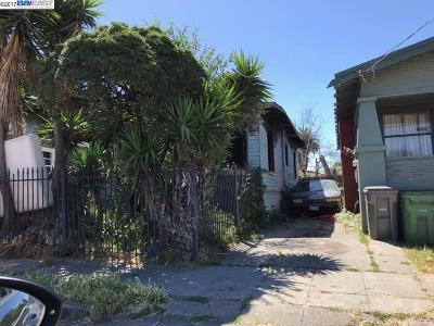 Oakland Single Family Home Active-Reo: 1286 76th Ave