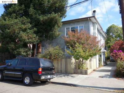Oakland Condo/Townhouse For Sale: 6426 Benvenue Avenue #1