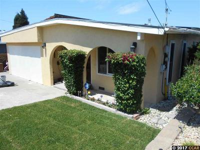 Pinole Single Family Home For Sale: 830 Betty Ave