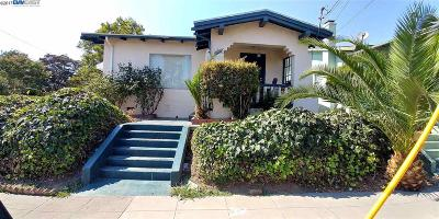 Oakland Single Family Home For Sale: 2551 55th Ave