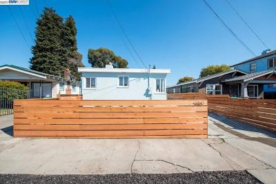 Oakland Single Family Home For Sale: 2480 Seminary Ave
