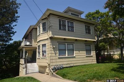 Oakland Multi Family Home For Sale: 379 Orange St