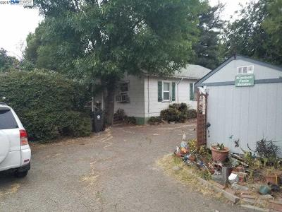 Castro Valley Single Family Home For Sale: 20934 Francis St