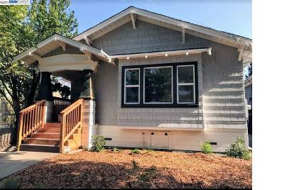 Berkeley Single Family Home For Sale: 1640 63rd St