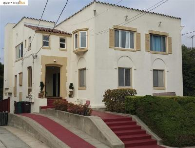 Oakland CA Condo/Townhouse Back On Market: $725,000