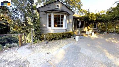 Lafayette Single Family Home For Sale: 765 Moraga Rd
