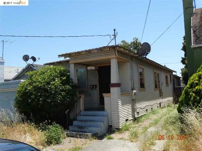 Oakland Single Family Home New: 1744 103rd Ave