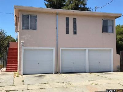 Oakland Multi Family Home New: 3323 38th Ave