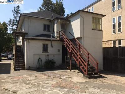 Berkeley Multi Family Home For Sale: 1921 Dwight Way