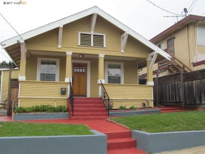 Oakland Single Family Home For Sale: 3487 Midvale Ave