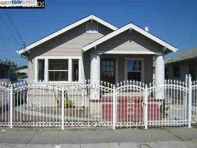 Oakland Single Family Home New: 1739 70th Ave