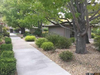 Walnut Creek Condo/Townhouse For Sale: 1217 Leisure Ln #5
