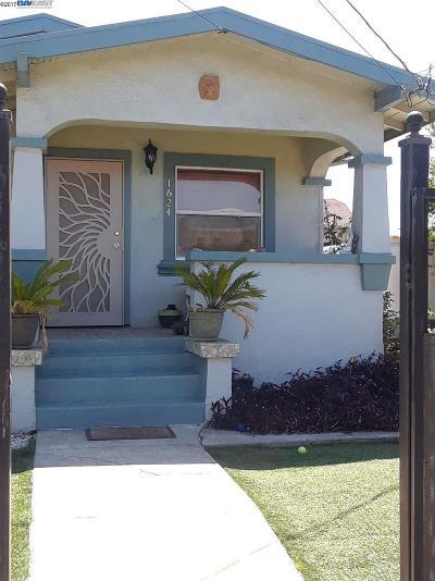 Oakland Single Family Home New: 1624 71st Avenue