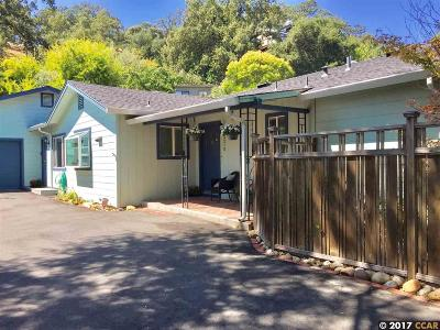 Walnut Creek Single Family Home New: 2215 Oakvale Road