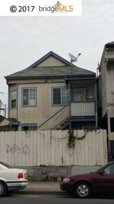 Oakland Single Family Home New-Short Sale: 1836 International Blvd