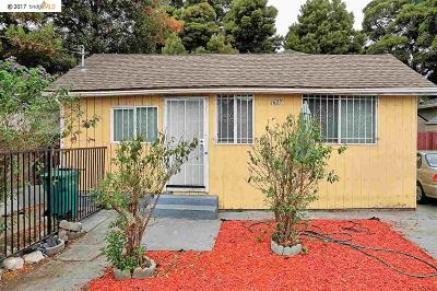 Oakland Single Family Home New: 1627 83rd Avenue
