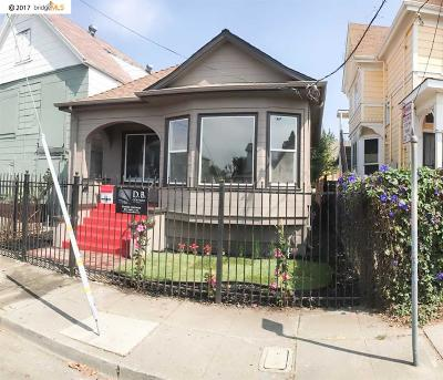 Oakland Single Family Home Active-Short Sale: 1212 30th St
