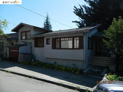 Oakland Single Family Home Active-Reo: 667 Santa Ray Ave