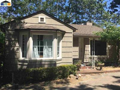 Lafayette Single Family Home New: 765 Moraga Rd