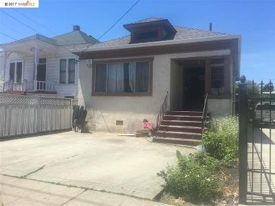 Oakland Single Family Home New: 1423 37th Ave