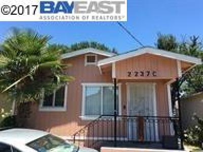 Oakland Single Family Home For Sale: 2237 62nd Ave