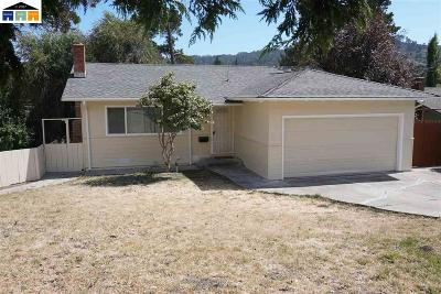 El Sobrante Single Family Home For Sale: 4222 Foster Ln