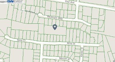 Hayward Residential Lots & Land For Sale: Nina St