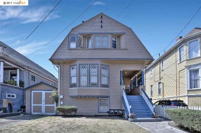 Alameda Multi Family Home For Sale: 2124 Eagle Ave