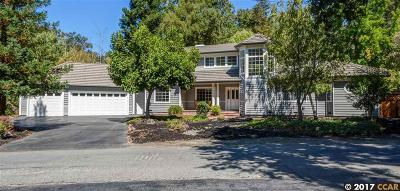 Walnut Creek Single Family Home For Sale: 230 Castle Hill Ranch Rd