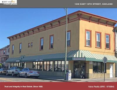 Oakland Commercial For Sale: 1246 E 18th Street