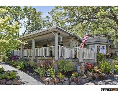 Alamo Single Family Home For Sale: 1599 Hillgrade Ave