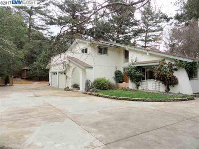 Castro Valley Single Family Home For Sale: 35600 Palomares Rd