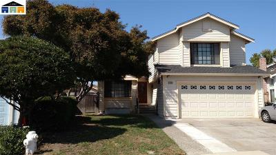 Hercules Single Family Home For Sale: 1139 Williams