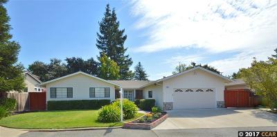 Concord Single Family Home Pending Show For Backups: 834 Weaver Lane