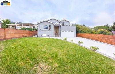 El Cerrito Single Family Home Contingent: 8002 Terrace Dr