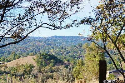 Lafayette CA Residential Lots & Land Price Change: $375,000