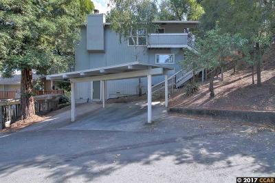 Walnut Creek Multi Family Home Pending Show For Backups: 1704 Terrace Rd.
