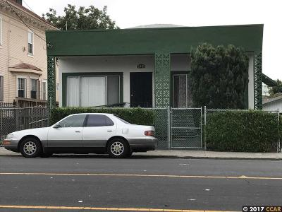 Oakland Single Family Home Active - Contingent: 5115 Foothill Blvd