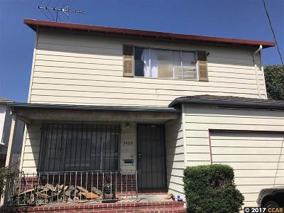 richmond Single Family Home New: 3409 Tulare Ave