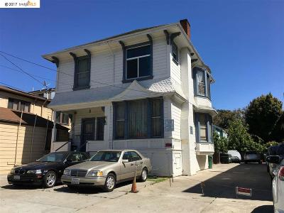 Alameda Multi Family Home For Sale: 1186 Park Street