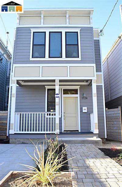 Oakland CA Single Family Home New: $825,000