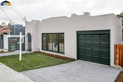 Oakland Single Family Home For Sale: 1284 Bates Road