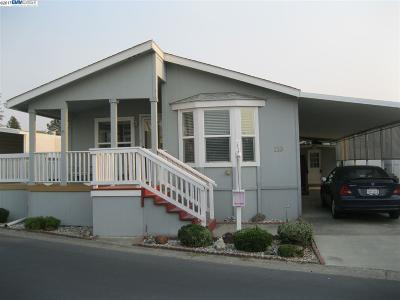 Pleasanton CA Mobile Home New: $264,000