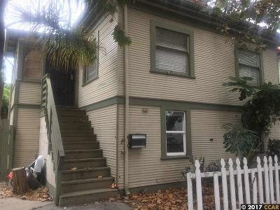 Berkeley Single Family Home For Sale: 3336 King Street