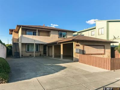 El Cerrito Multi Family Home For Sale: 5343 Cypress Ave