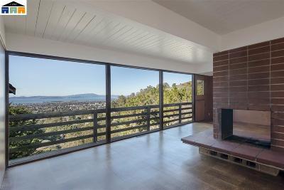 Berkeley Single Family Home For Sale: 841 Alvarado Rd