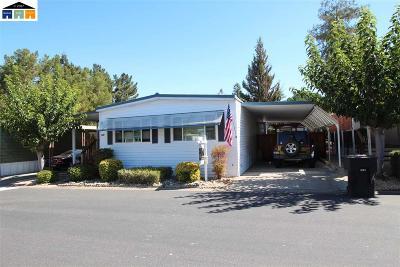 Pleasanton Mobile Home For Sale: 3231 Vineyard