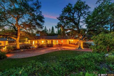 Orinda Single Family Home For Sale: 515 Miner Road